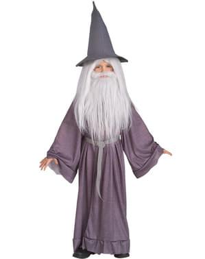 Fato de Gandalf o Cinzento para menino