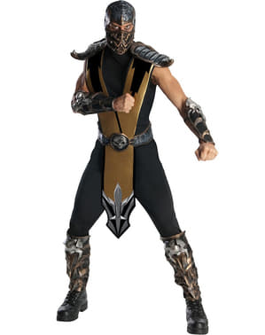 Deluxe Mortal Kombat Scorpion Adult Costume