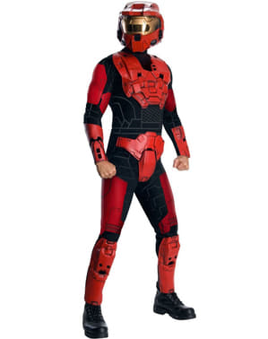 Costume Red Spartan Halo Deluxe