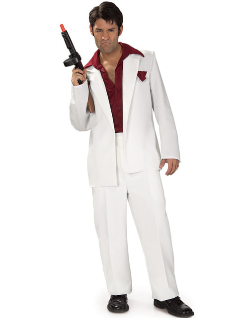 Tony Montana A sebhelyesarcú felnőtt jelmez