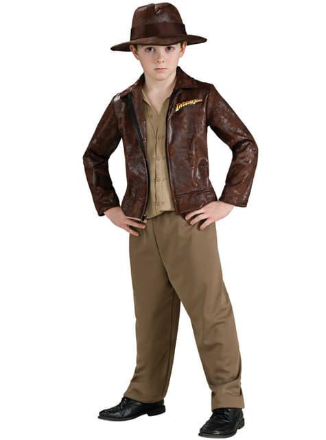 Deluxe Indiana Jones kostuum voor jongens