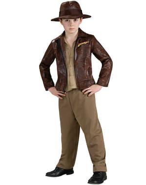 Indiana Jones Deluxe Maskeraddräkt Barn