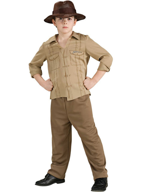 Dětský kostým Indiana Jones