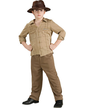 Adventurer Indiana Jones Kids Costume