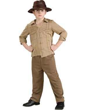 Costume Indiana Jones avventuriero da bambino