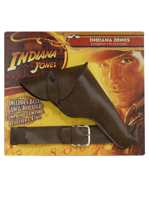 Pistola e cinto Indiana Jones