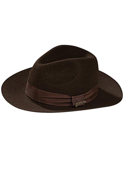 Chapéu Indiana Jones para adulto deluxe