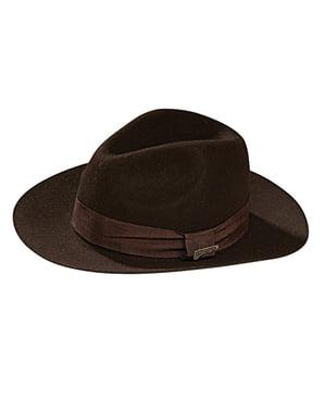 Indiana Jones deluxe hat til voksne