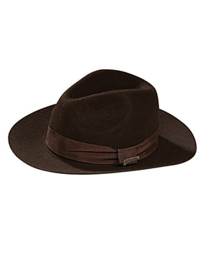 Sombrero Indiana Jones adulto deluxe