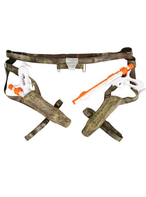 Blasters y cinturón Jango Fett - para tu disfraz