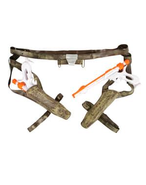 Blasters y cinturón Jango Fett