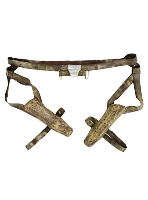 Blasters y cinturón Jango Fett - original