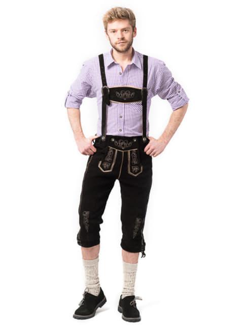 Bavarian lederhosen for men