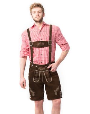 Мъжко Ралф кожени панталони