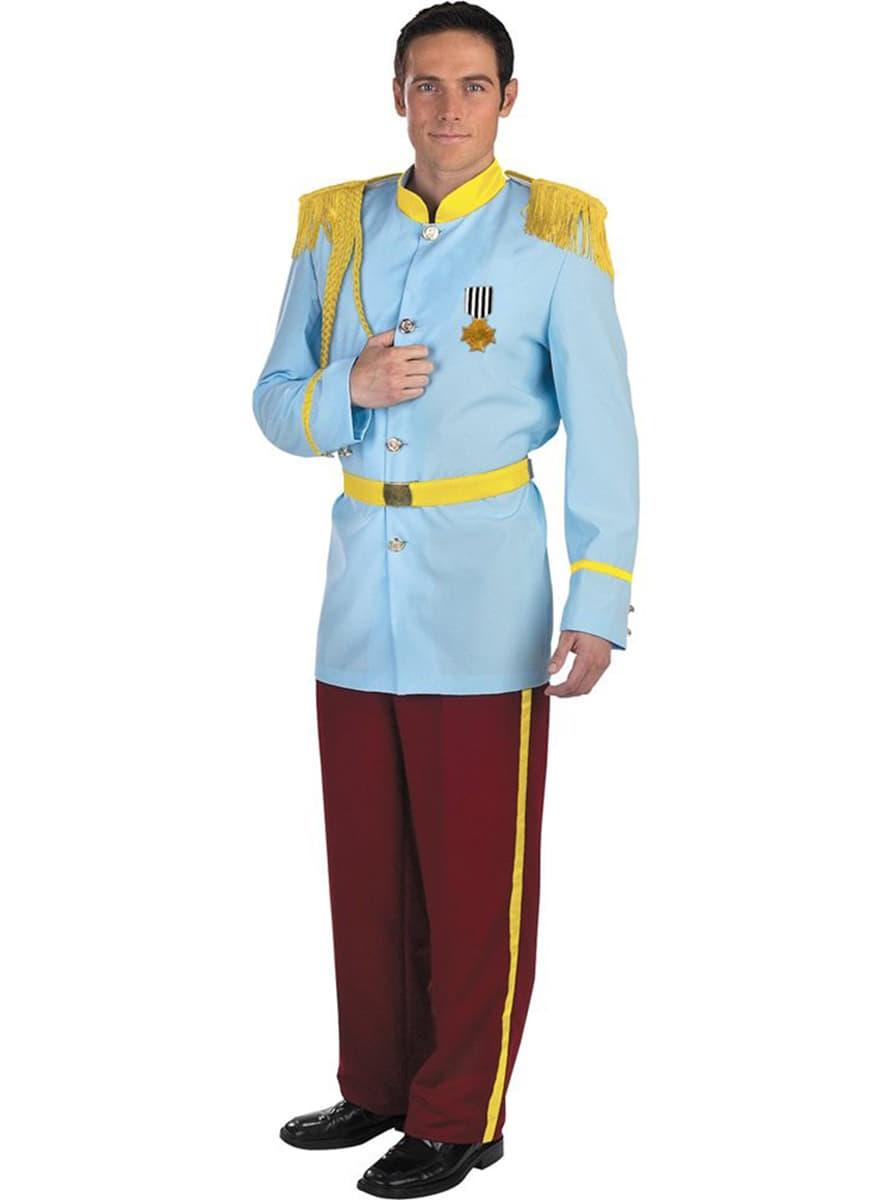 costume prince charmant de cendrillon haut de gamme. Black Bedroom Furniture Sets. Home Design Ideas