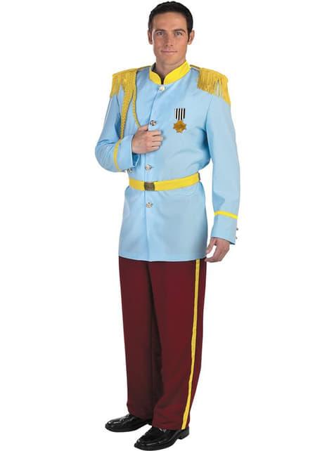 Déguisement prince charmant de Cendrillon haut de gamme
