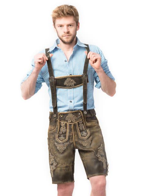 Lederhose pentru bărbat Oktoberfest