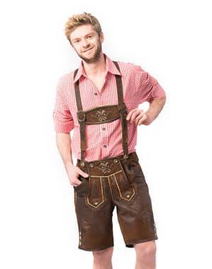 Lederhose Starnberg para homem