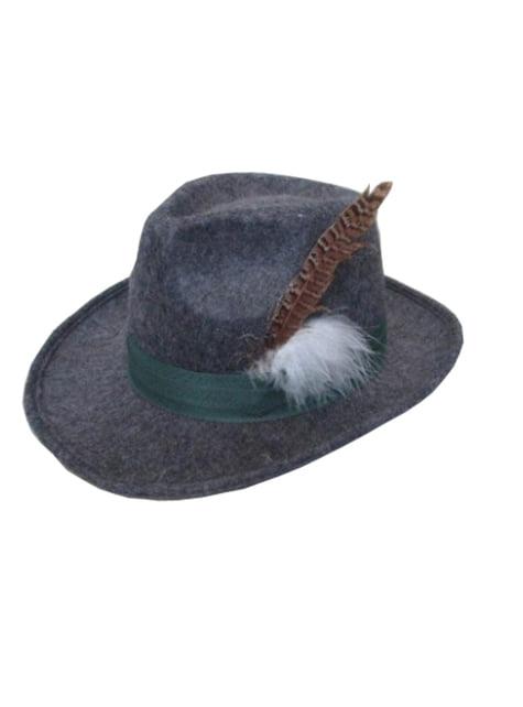 Pălărie de tirolez elegantă pentru bărbat