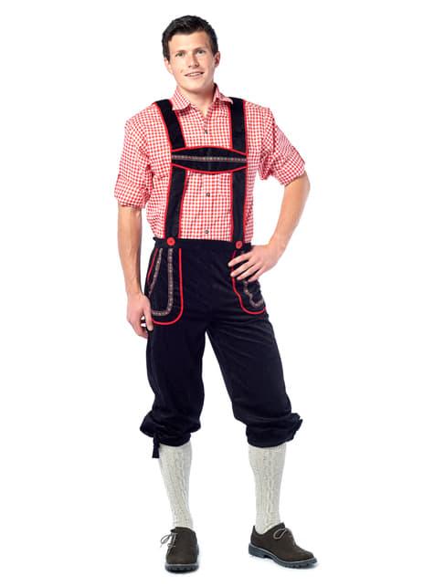 Costum bavarez lederhose pentru bărbat