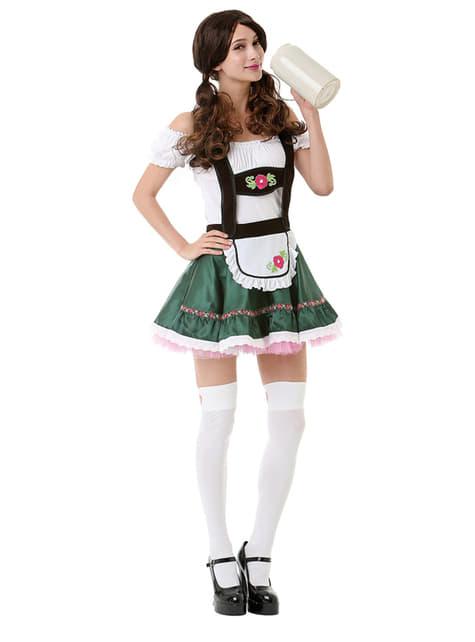Disfraz de alemana para Oktoberfest