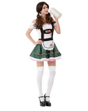 Miss Oktoberfest dirndl kostume til kvinder