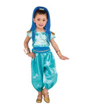 Deluxe Shimmer og Shine Shine Kostume til Piger