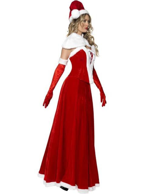 Strój sukienka Mikołajki
