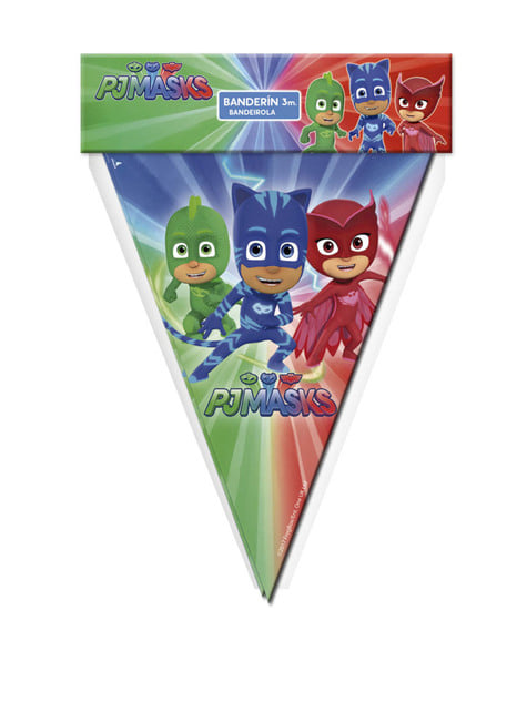 Bandeirola PJ Masks
