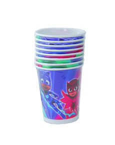 Set de 8 vasos PJ Masks