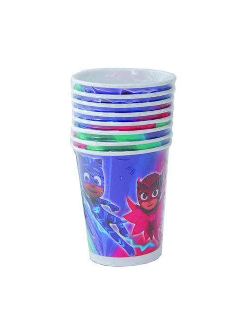 Set de 8 vasos PJ Masks