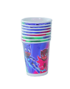 8 PJ Maskeleri Set plastik bardaklar
