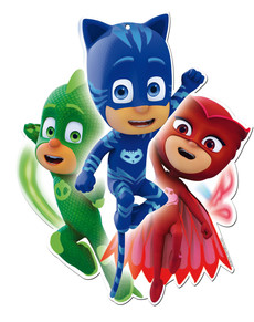 Set de 2 figuras decorativas PJ Masks