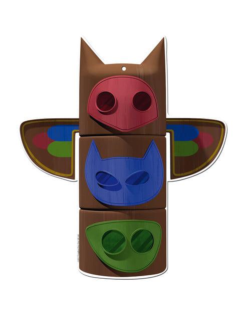 Conjunto de 2 figuras decorativas PJ Masks