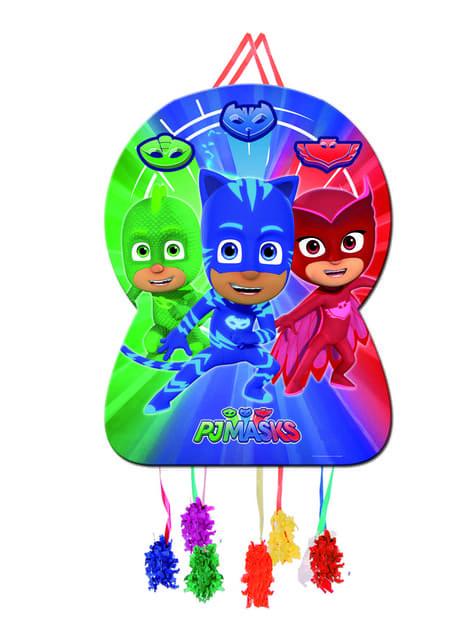 PJ Masks Piñata Topfschlagespiel Silhouette