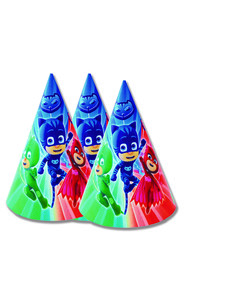 Set de 6 sombreros  PJ Masks