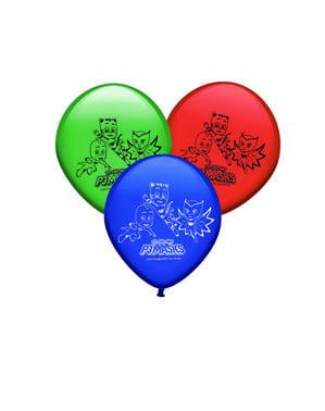 8 adet PJ Maskesi Balon Seti