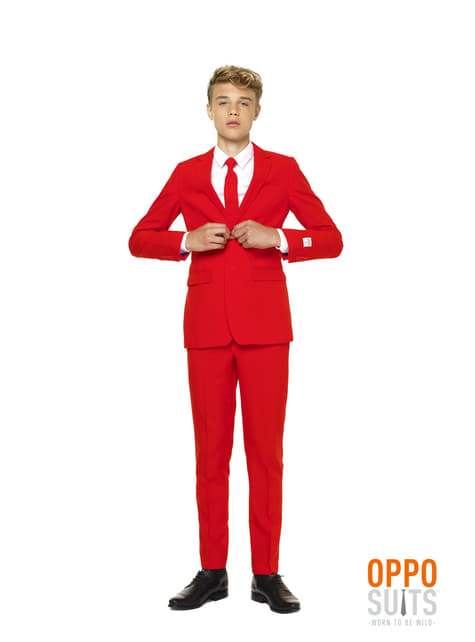 Traje Red Devil Opposuit para adolescente