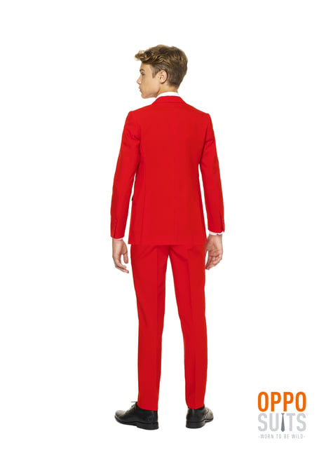 Costum Red Devil Opposuit pentru adolescenți
