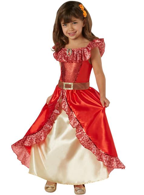 Disfraz de Elena de Avalor deluxe para niña - niña