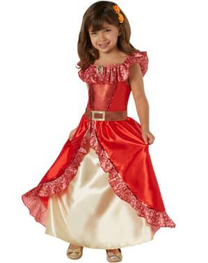 Costum Elena din Avalor deluxe pentru fată