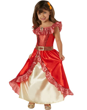 Elena av Avalor Deluxe Kostyme for Jente