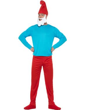 Papa Smurf Kostum