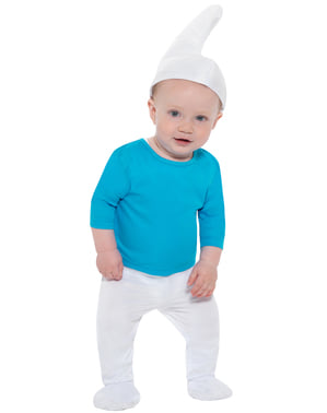 Fato de Smurf para bebé