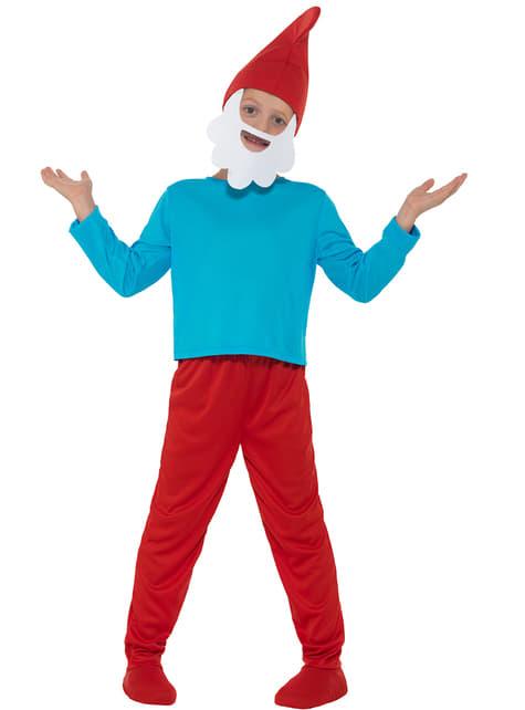 Disfraz de Papá Pitufo infantil - hombre