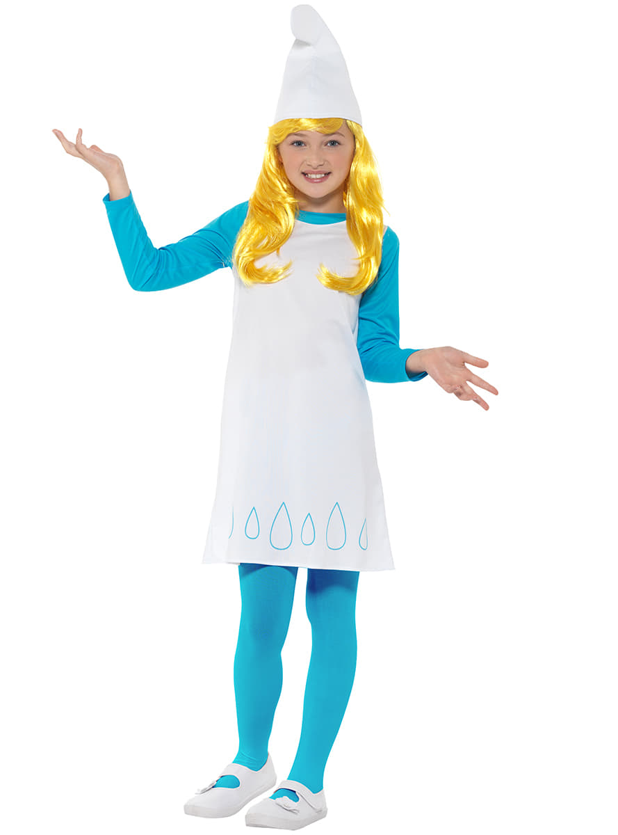 Smurfette costume for girl. Express delivery  025b8a7325c7