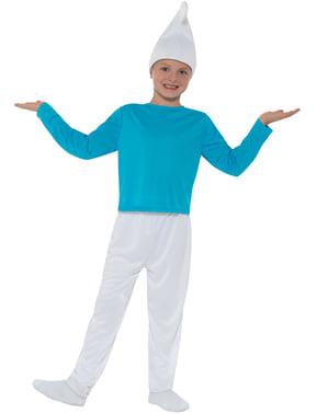 儿童服装的Smurf