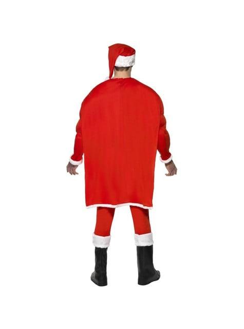Déguisement super Père Noël musclé