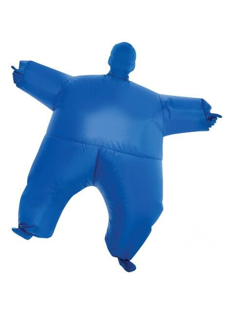 Disfraz hinchable megamorph azul infantil