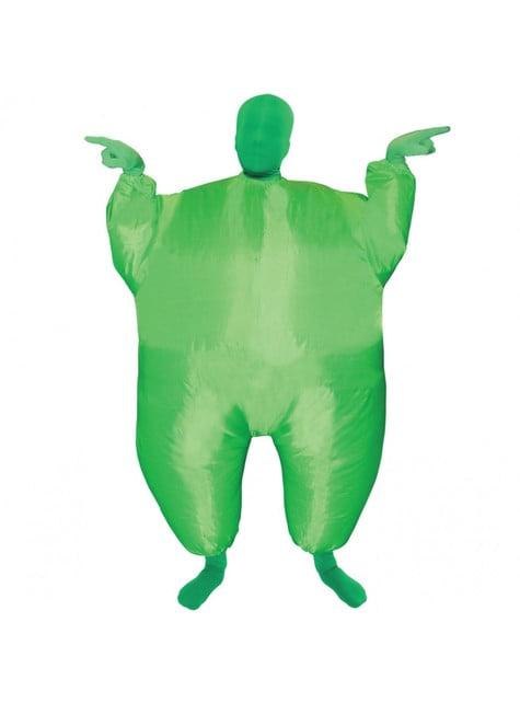 Disfraz hinchable megamorph verde infantil